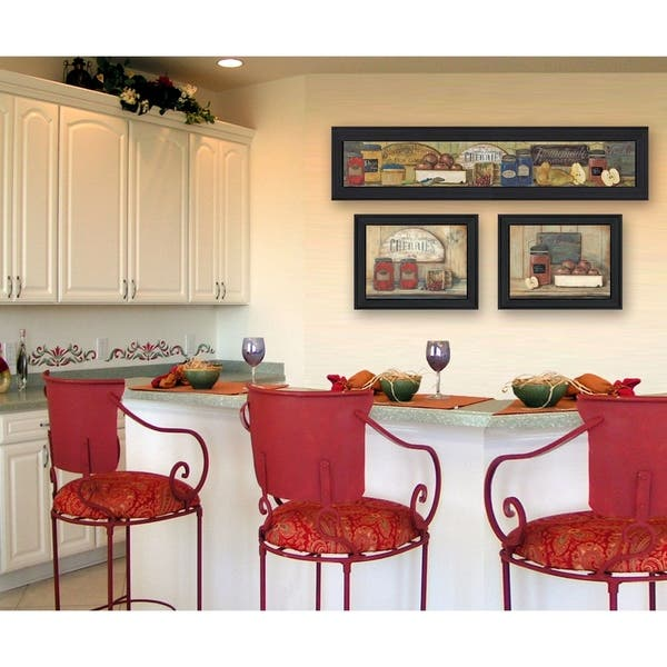 Shop For Kitchen Collection By Pam Britton Printed Wall Art Ready To Hang Framed Poster Black Frame Get Free Delivery On Everything At Overstock Your Online Gallery Store 5 In Rewards With Club O 17126853