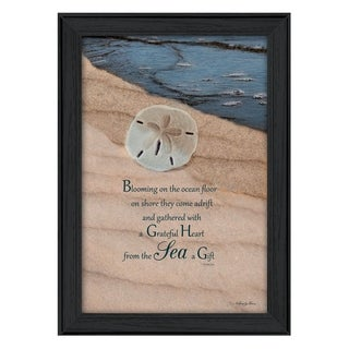 """""""A Gift"""" By Robin-Lee Vieira, Printed Wall Art, Ready To Hang Framed Poster, Black Frame"""
