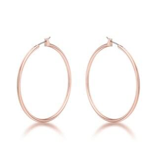 45mm Rosegold Hoop Earrings