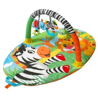 Infantino Explore and Store Activity Gym Jungle Buddies