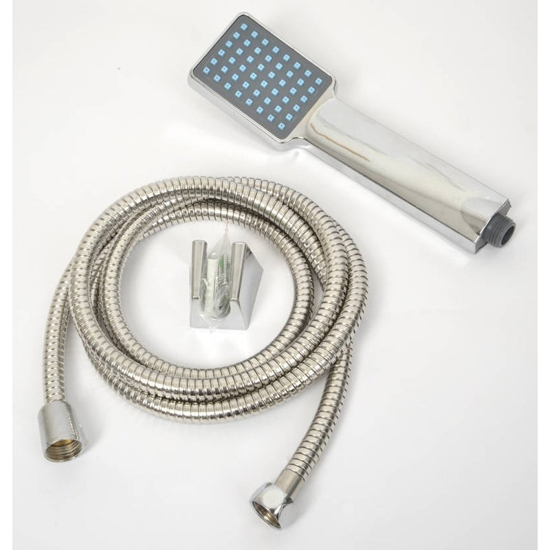 Evideco Set of Hand Held Shower Head and Stainless Steel ...