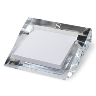 MY INITIAL PERSONALIZED ACRYLIC NOTEPAD AND HOLDER