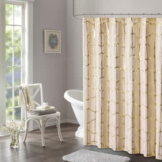 Buy Gold Shower Curtains Online At Overstock