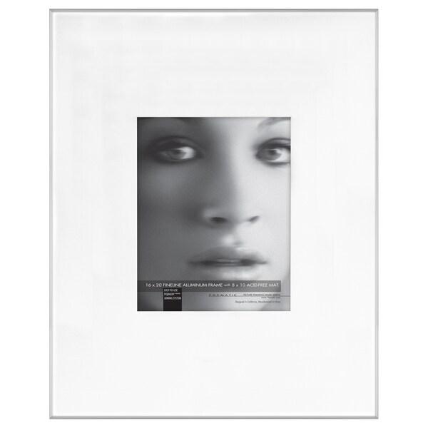 Shop MCS Industries Fineline Silvertone Metal/Glass 16-inch x 20 ...