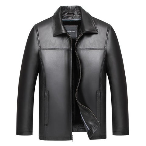 Mason & Cooper Harbor Leather Jacket