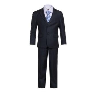 Ferrecci Boys 5-Piece 2-Button Notch Collar Suit Set (More options available)