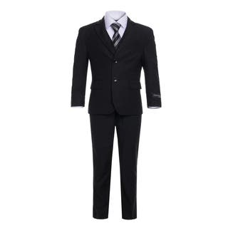 Ferrecci Boys 5-Piece 2-Button Notch Collar Suit Set|https://ak1.ostkcdn.com/images/products/17127675/P23394943.jpg?impolicy=medium