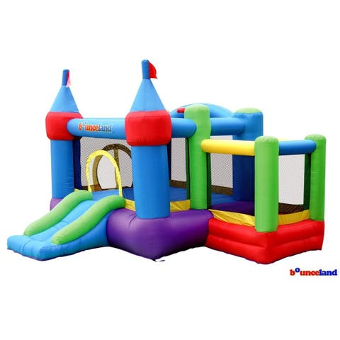 Bounceland Bounce House - Dream Castle with ball pit