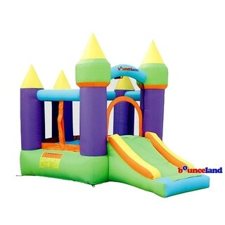 Bounceland Bounce House - Magic Castle Bounce N' Slide w/hoop