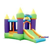 Bounceland Bounce House - Magic Castle Bounce N' Slide w/hoop