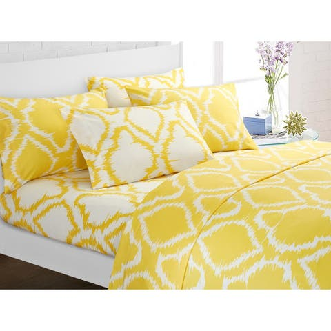 Chic Home Analyn 6 Piece Bed Sheet Set Contemporary with Bonus Pillowcases