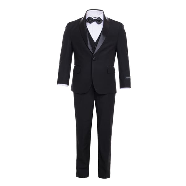 Ferrecci Boys 5-Piece Shawl Collar Tuxedo Suit Set