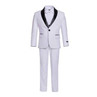 Ferrecci Boys 5-Piece Shawl Collar Tuxedo Suit Set