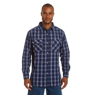 Stanley Men's Long Sleeve Chambray Button Down Shirt