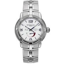 Raymond Weil Parsifal Mens Watch 2843-ST-00307, White, Si...