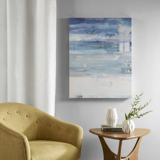 Urban Habitat Urban Mist Grey Blue Gel Coat Canvas With MDF Backer