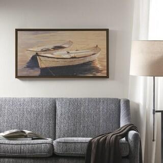 Madison Park Autumn Sails Natural Heavy Brushed Gel Coat Framed Canvas