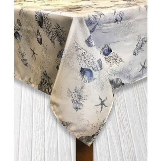 Ocean Indoor/Outdoor Imported Tablecloth