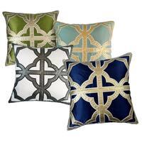 Keltic Clover 24 x 24-inch Throw Pillow