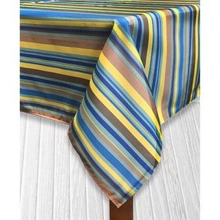 Sante Fe Stripe Imported Indoor/Outdoor Tablecloth