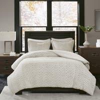 Madison Park Aurora Ivory Extra Warm Ultra Plush And Cozy Plush Down Alternative Comforter Set