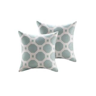 Madison Park Oriana Woven Geometric Jacquard 20 inch Throw Pillow