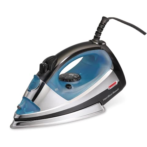 Hamilton Beach® Professional Iron with Stainless Steel Soleplate