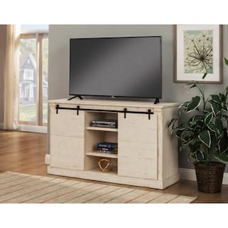 Tv stands for less for Furniture of america gelenan industrial cement like multi storage buffet