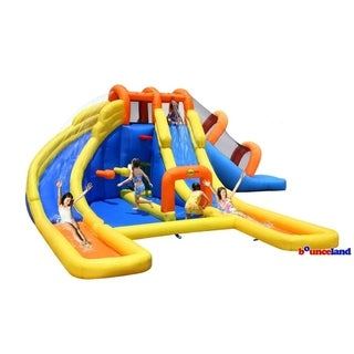 Link to Bounceland Big Splash Triple Water Slides and Pool Water Park Similar Items in Outdoor Play