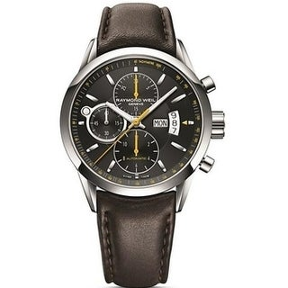 Raymond Weil Freelancer Leather Automatic Mens Watch 7730-STC-20021