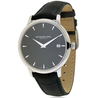 Raymond Weil Toccata Leather Mens Watch 5588-STC-20001