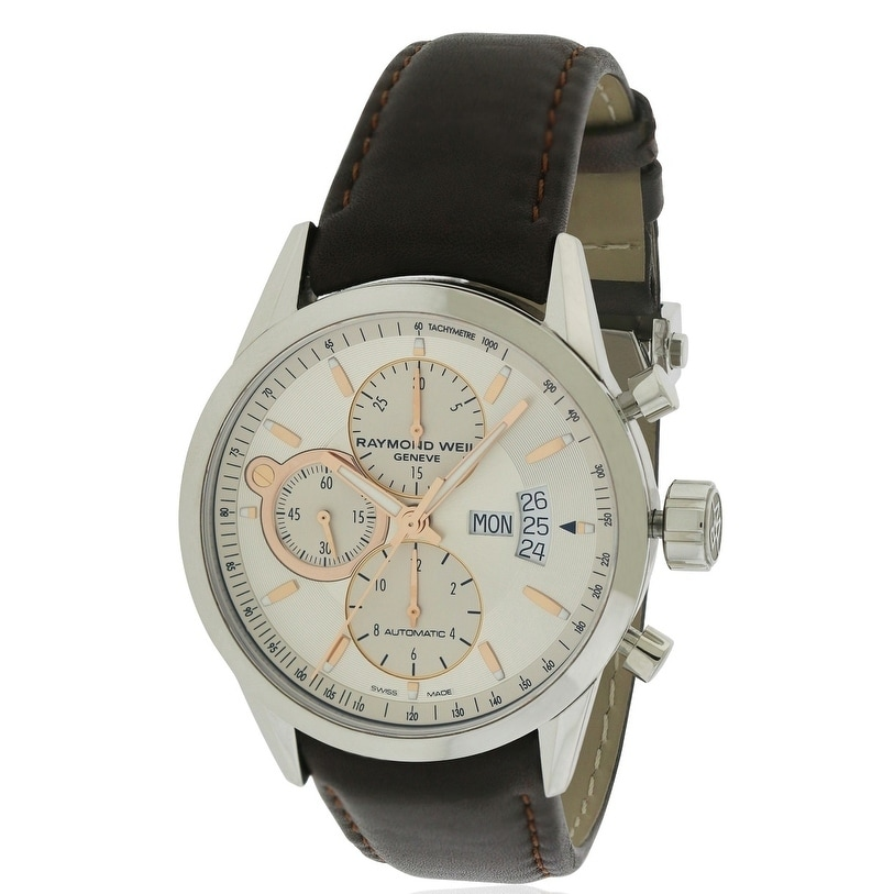 Raymond Weil Freelancer Leather Automatic Mens Watch 7730...