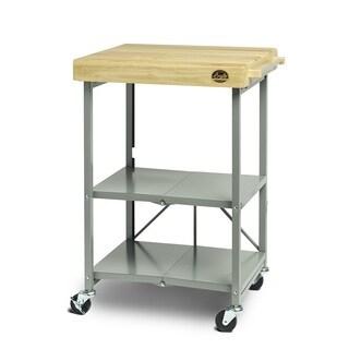 Bradley Smoker Wood/Steel Foldable Cart