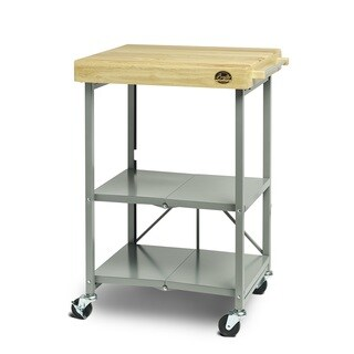Bradley Smoker Wood/Steel Foldable Cart