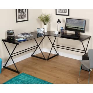 Simple Living Alex L Shaped Desk