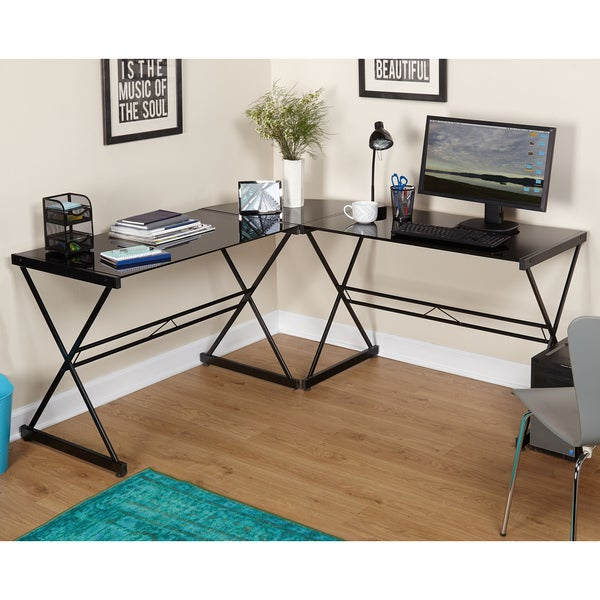 Simple Living Alex L Shaped Desk