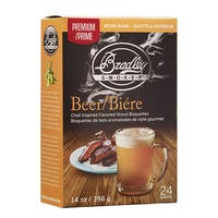 Bradley Smoker Beer Bisquettes (24 Pack)