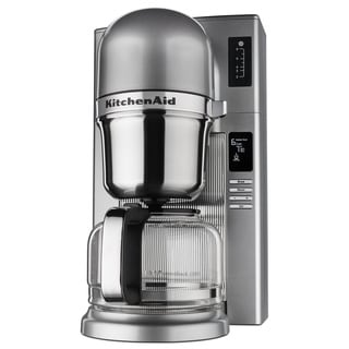 KitchenAid Custom Pour Over 8 Cup Coffee Maker, Contour Silver
