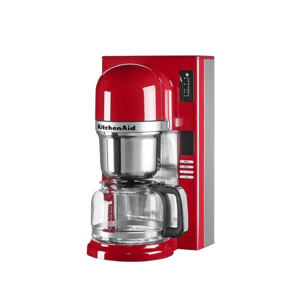 Kitchenaid Empire Red 8 Cup Custom Pour Over Coffee Maker