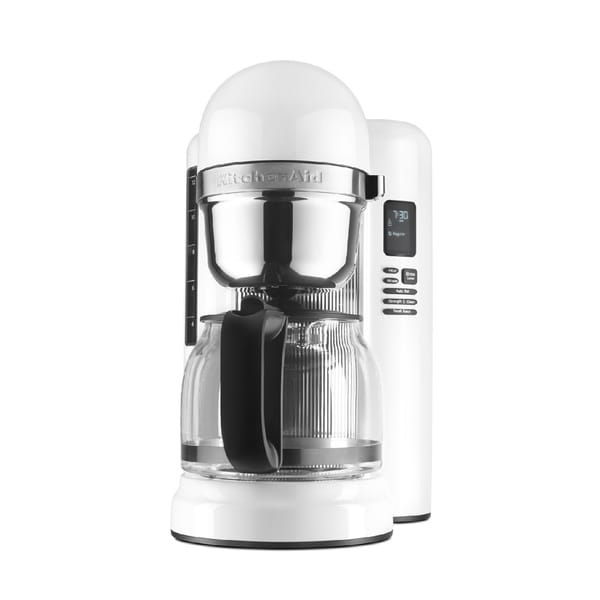 KitchenAid White 1-Touch 12 Cup Coffee Maker