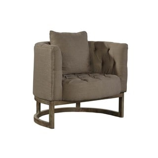 Marla Tufted Arc-Back Chair
