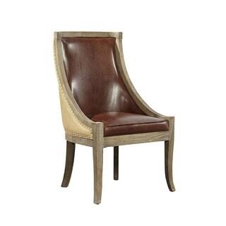 Swift Scoop Chair (Black/Brown)