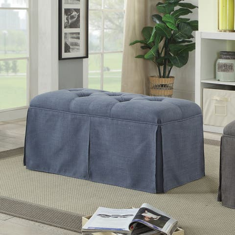 Terla Transitional 36-inch Storage Bench by FOA