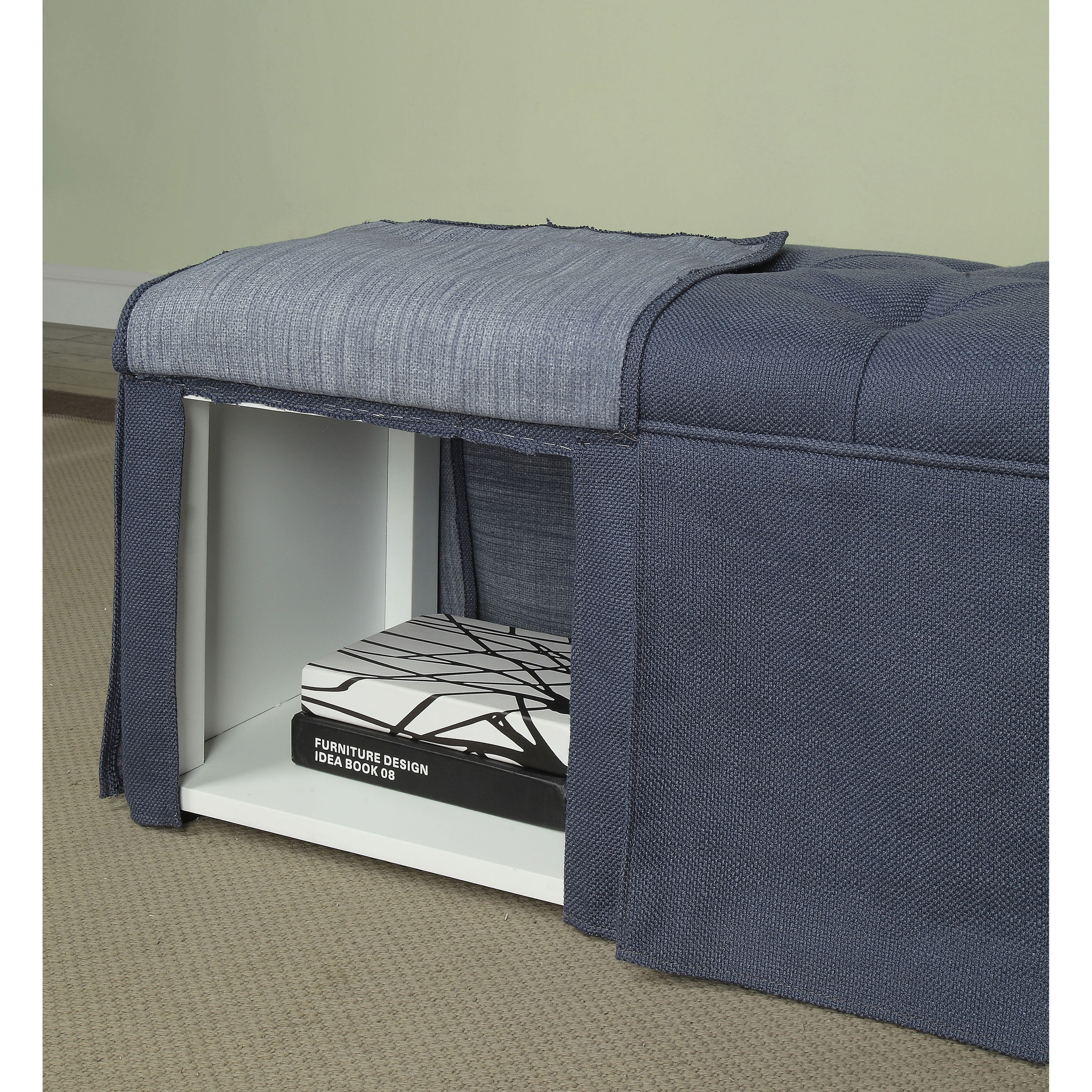 Brilliant Details About Terla Transitional 36 Inch Storage Bench By Foa Pdpeps Interior Chair Design Pdpepsorg