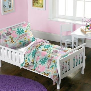 Dream Factory Pin It 2-piece Toddler Comforter Set