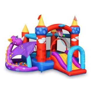 Bounceland Bounce House - Dragon Castle with ball pit