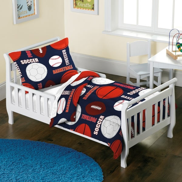 Dream Factory All Sports 2-piece Toddler Comforter Set