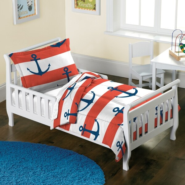 Dream Factory Sail Away 2-piece Toddler Comforter Set