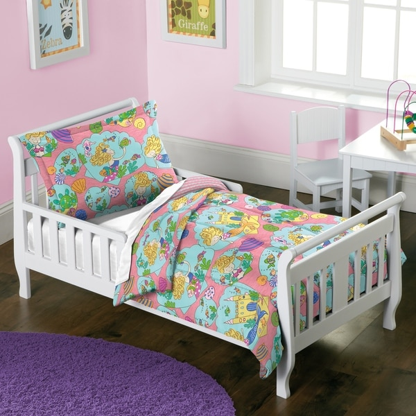 Dream Factory Mermaid Castle 2-piece Toddler Comforter Set