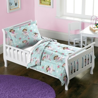 Dream Factory Dancer 2-piece Toddler Comforter Set